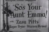 So's Your Aunt Emma! (1942)