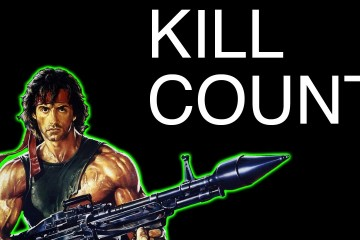 Sylvester Stallone Kill Count
