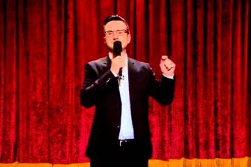 Josh Robert Thompson on The Late Late Show